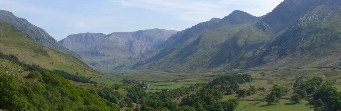Dru International Retreat Centre, Nant Ffrancon Valley, Snowdonia, Wales