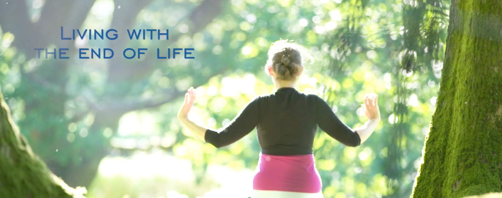 Living with the End of Life - image of Kate Carter, Senior Dru Yoga teacher trainer