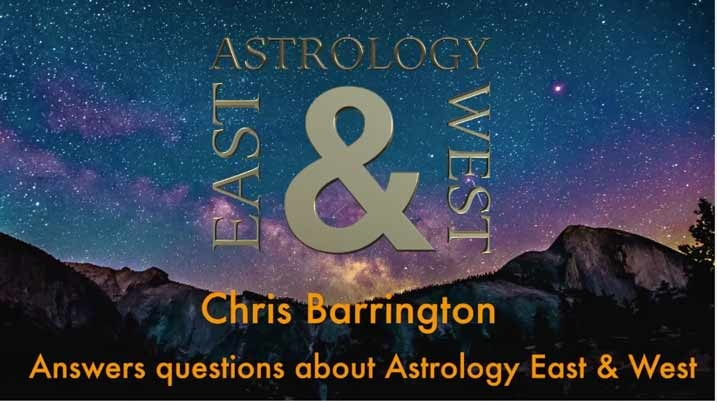 Vedic Astrology online course with Chris Barrington